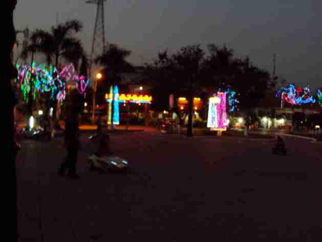Fairground in Ha Tien