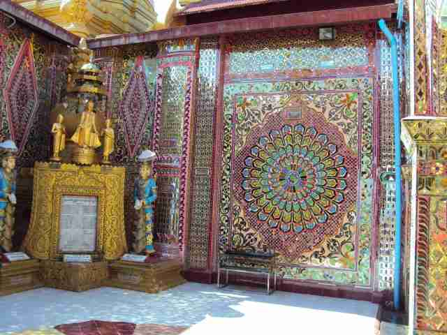 Mandalay Hill - Art in every corner