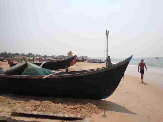 Fischerboote Calangute
