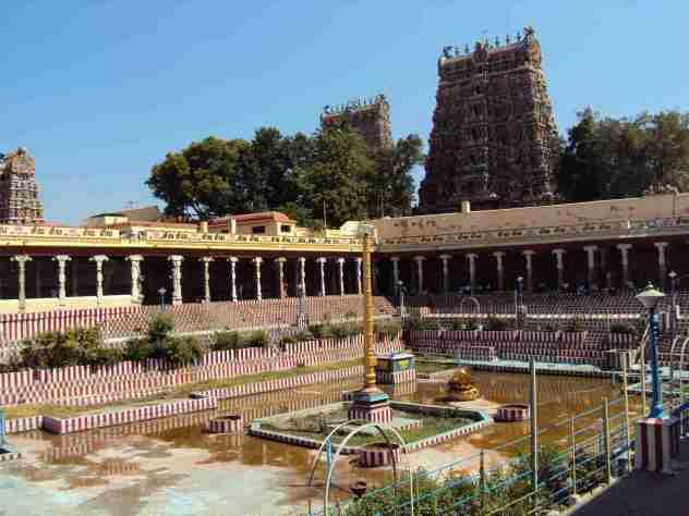 Innenhof im Tempel