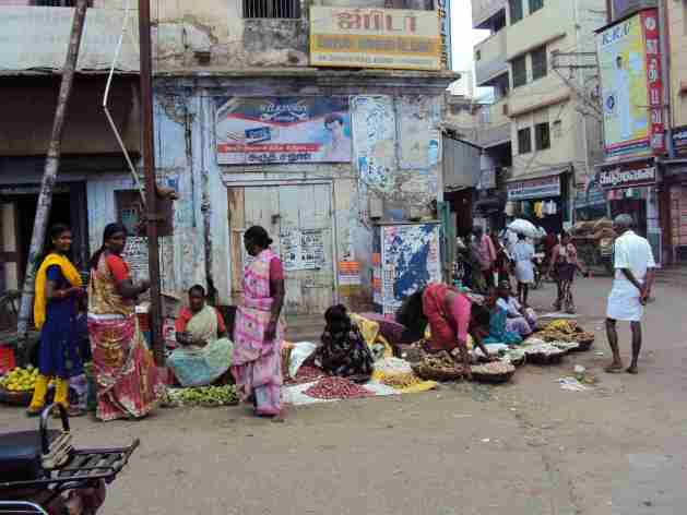 Strassenszenen in Madurai