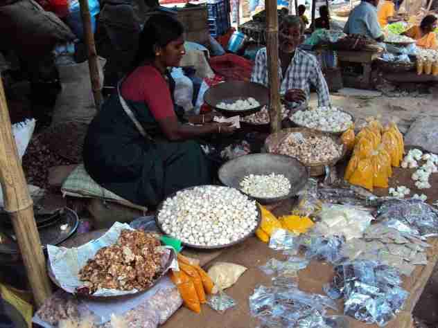 Marktgewimmel in Madurai