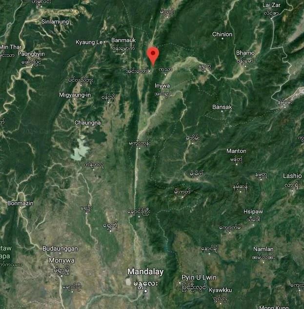 Burma von oben