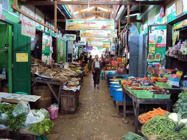 Früchte- und Gemüsemarkt