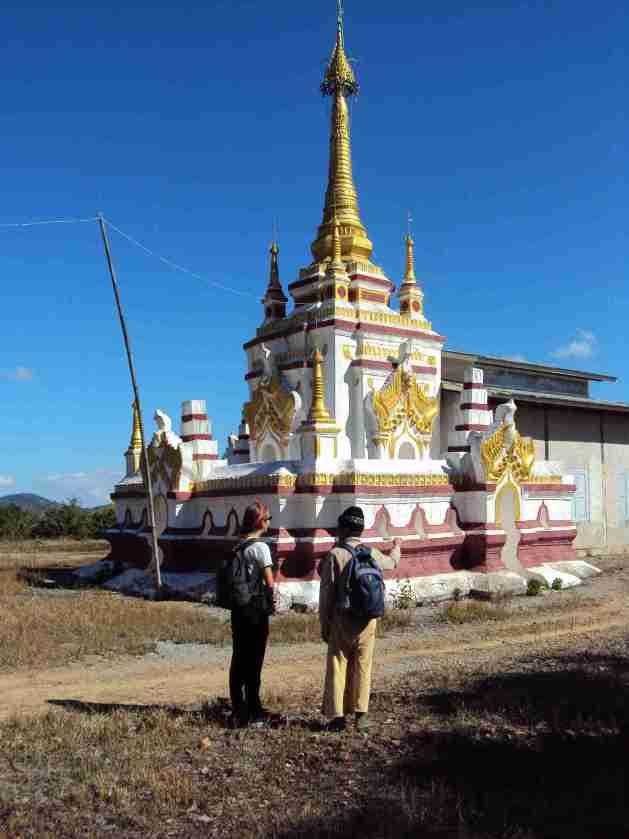 Tempel auf dem Weg
