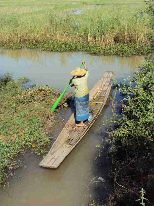 Boote auf den Kanälen