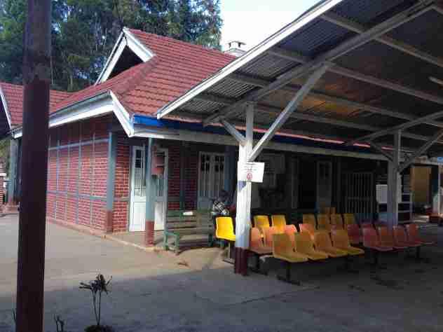 Bahnhof in Kalaw