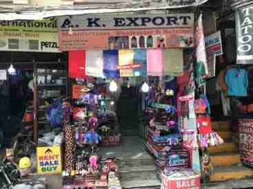 Läden in Thamel