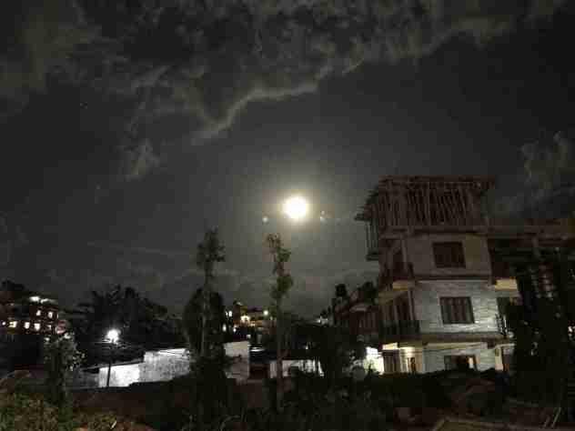 Full Moon over Pokhara