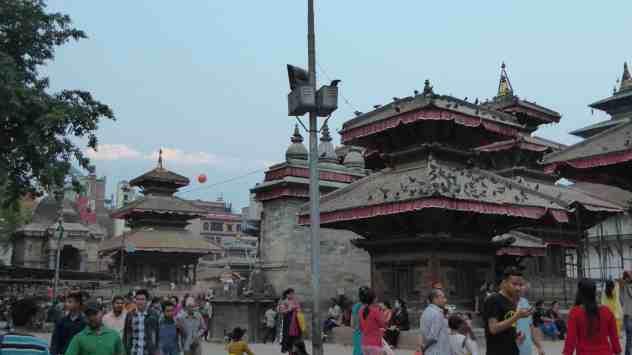 Tempel beim Durbar Square