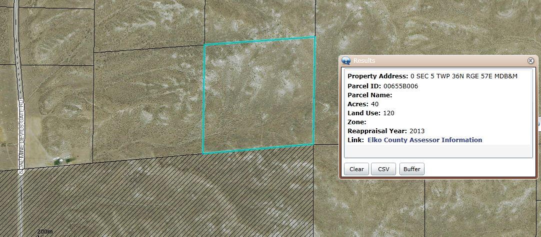 40 acres in Elko