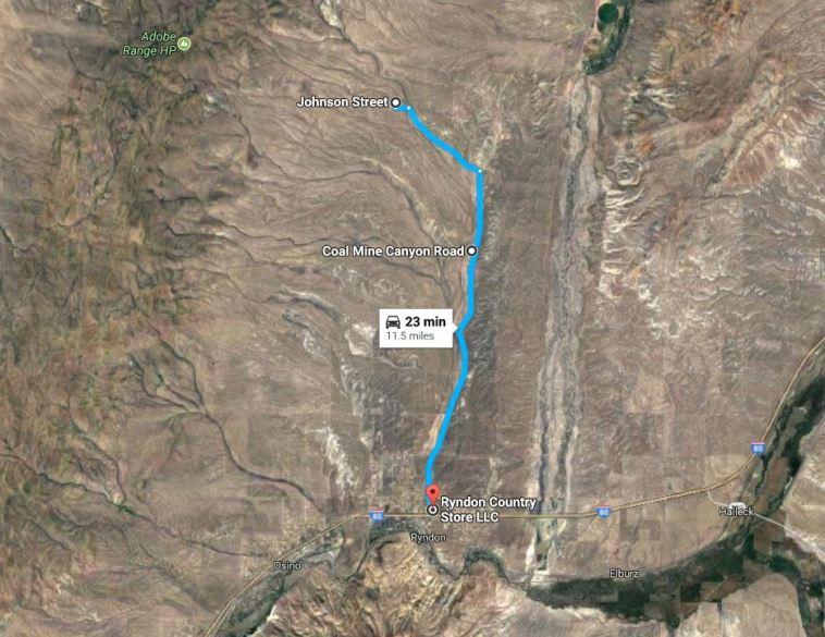 Ryndon Nevada Land for Sale