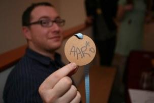 Vinnie made medals
