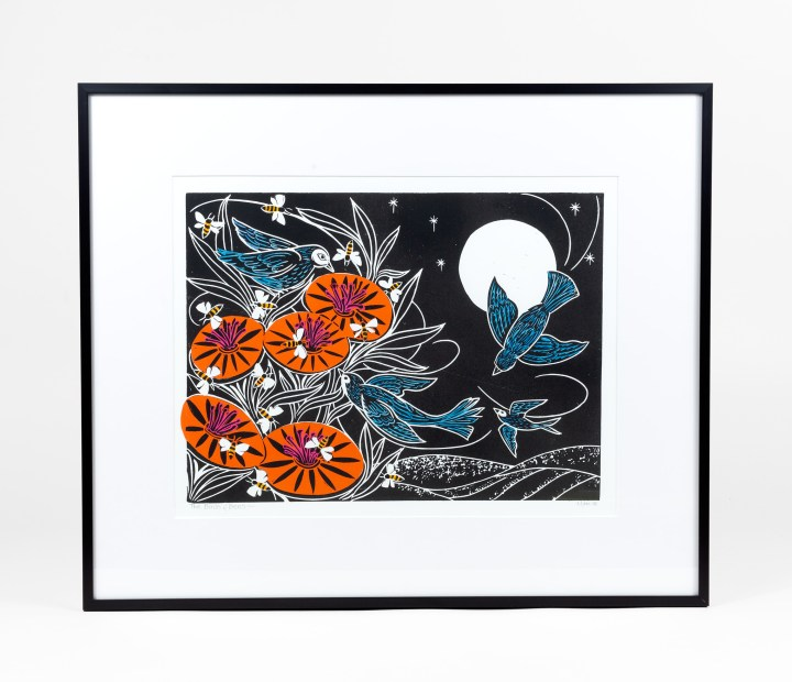 Birds and Bees Print