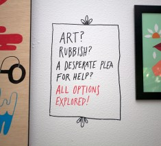 Art? Rubbish?