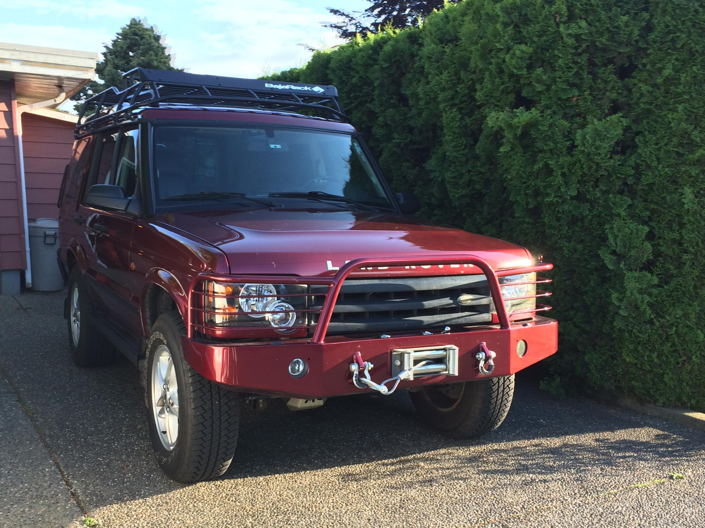 Tactical Rovers bumper with winch Land Rover Forums Land Rover