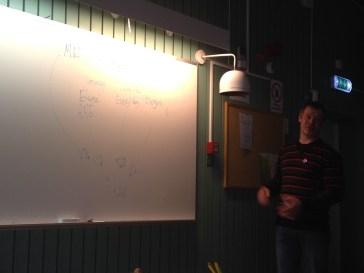 ..och här fick vi en bra dragning om hur åkern kan vara del i ett kretslopp där vi får ut mängder av energi på olika sätt.