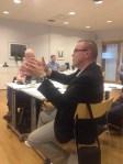 Jan Unga från Luleå bidrar med tankar kring regionalt samverkan. I Femkanten samlas fem kommuner och lär av varandra.