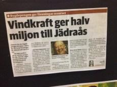 Ett bevis på att han, och de andra Jädraåsborna har lyckats bra.