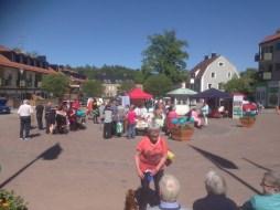 Västerviks kommun bjöd på fika.