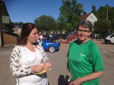 Annelie och Gun-Britt är kända Överumare som både jobbat med att genomföra firandet denna dag.