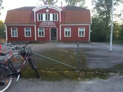 Samlingsplatsen, gamla skolan i Blankaholm