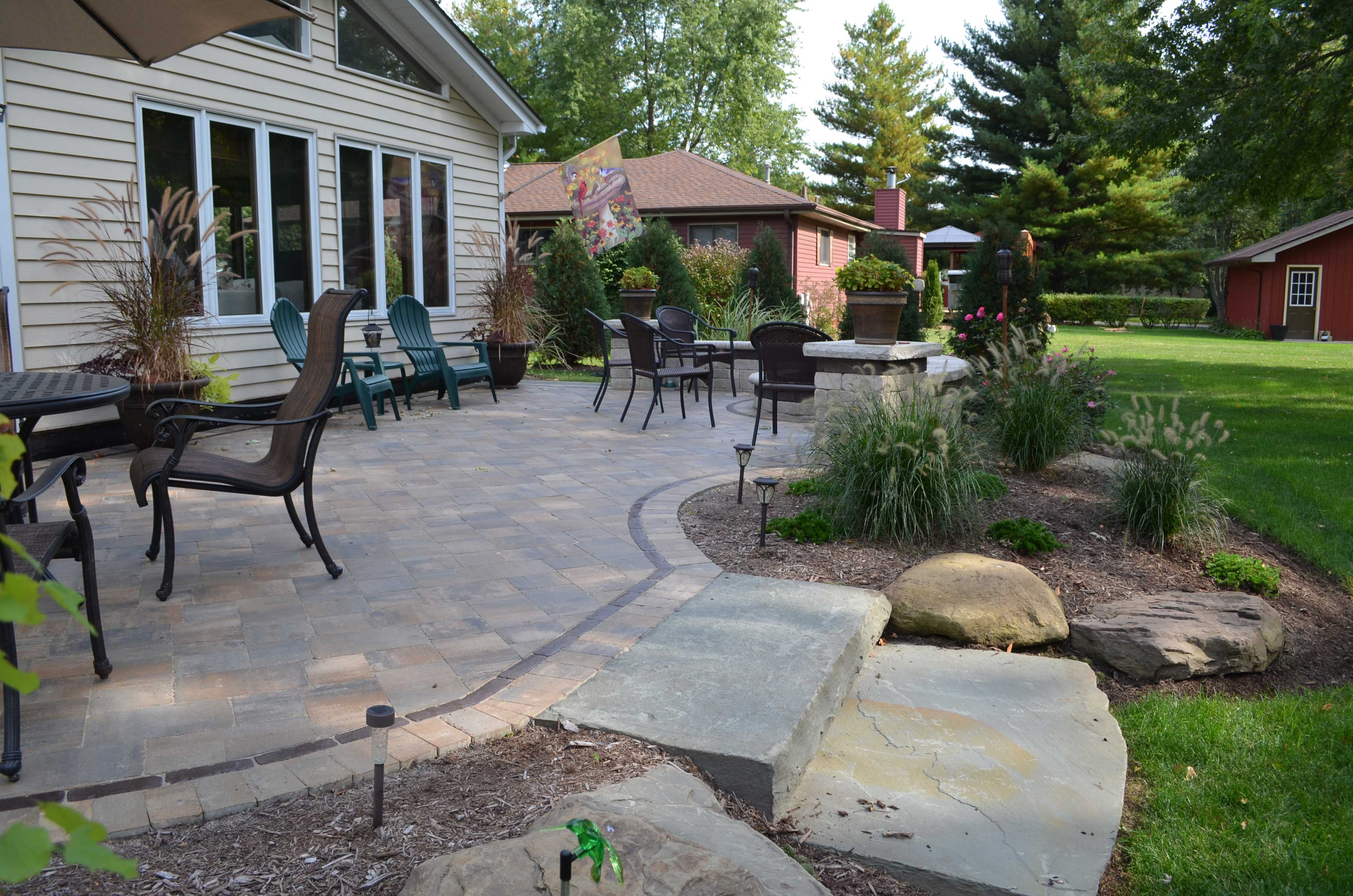 4 Reasons to Replace Your Wooden Deck with a Paver Patio on Backyard Wood Patio Ideas id=48633