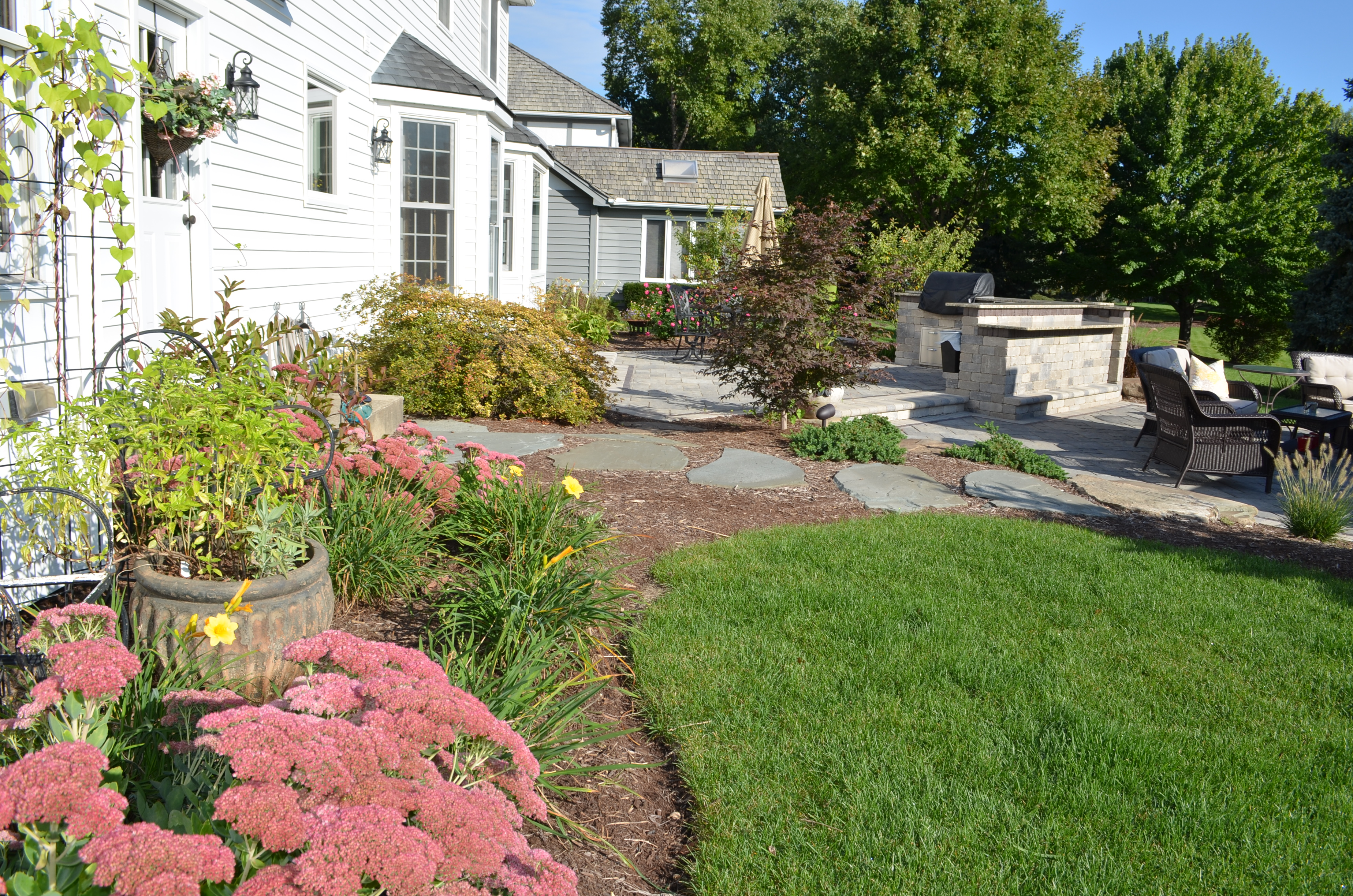 Backyard Landscaping Tips | Simple Tips for Low ... on Low Maintenance Backyard Design  id=14494