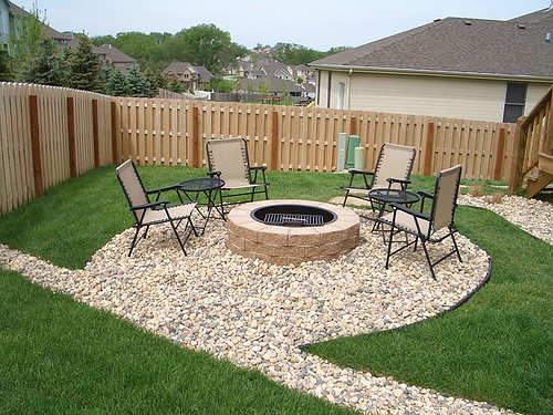 Why Patio Fire Pits are Nice Landscaping Addition ... on Garden Ideas With Fire Pit id=59853