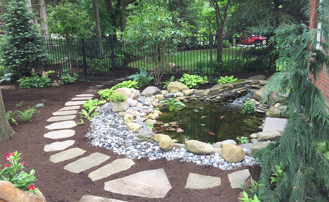 Ponds & Water Features   Absolute Precision Landscape & Supply on Landscape Pond Design id=61108
