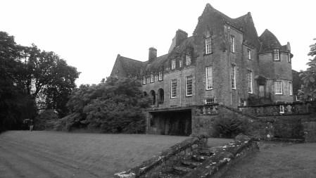 Ardkenless Castle form lower garden