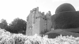Crathes Castle from the grounds
