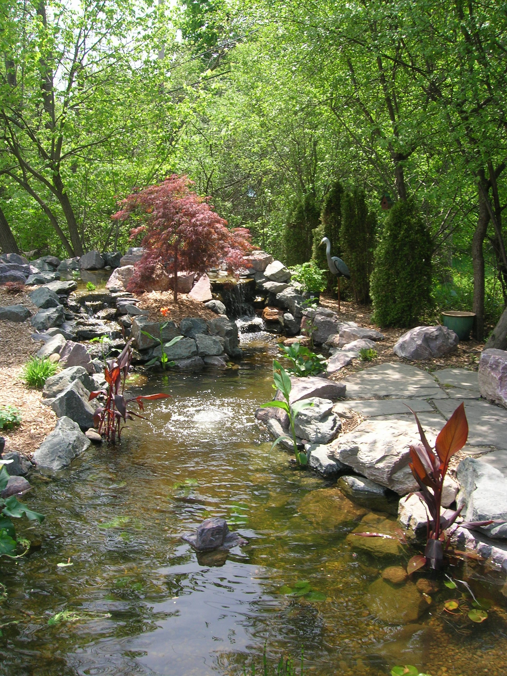 Koi Pond in SE Michigan « Landscape Artisan on Koi Ponds Ideas  id=74422