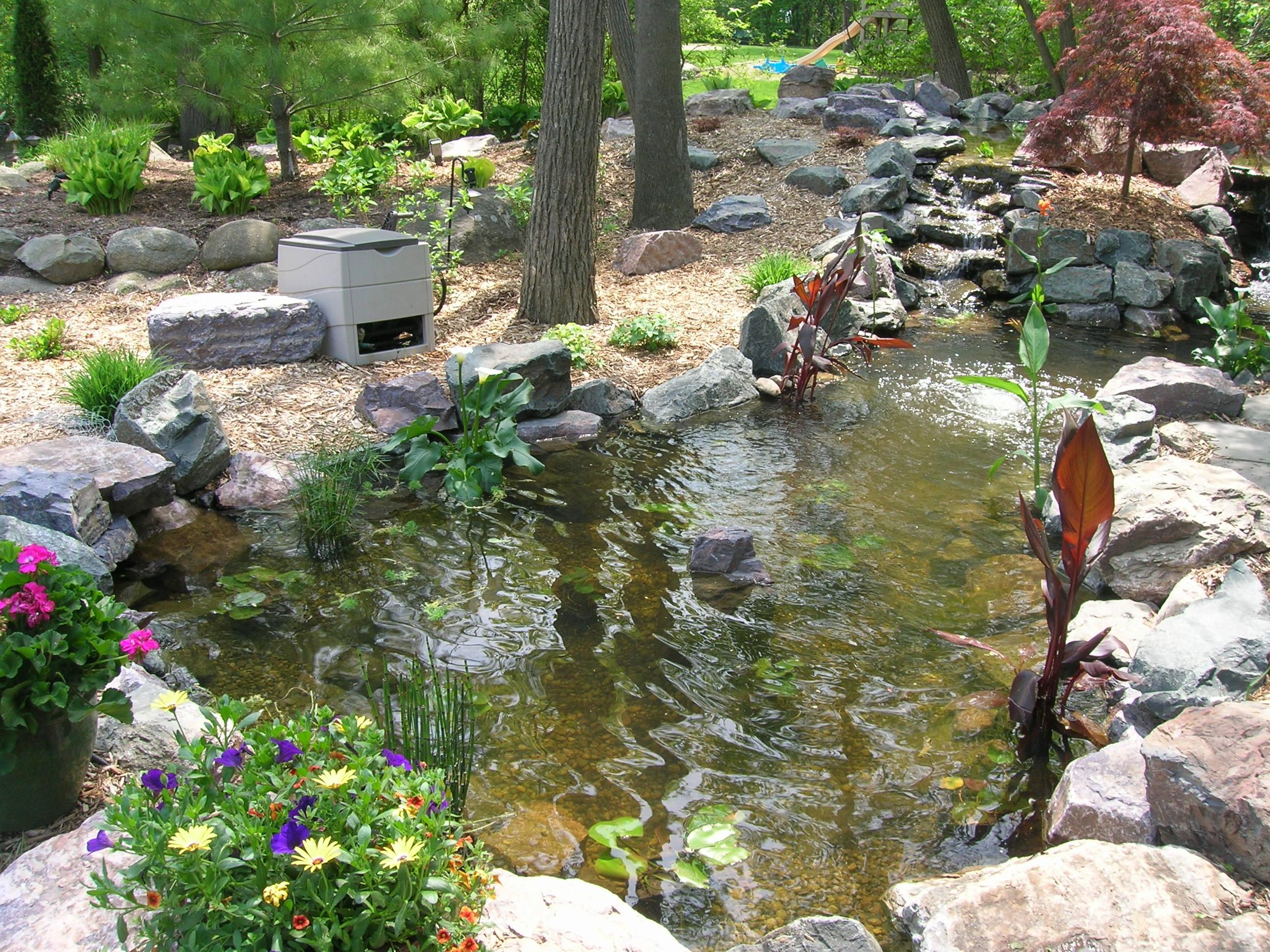 Koi Pond in SE Michigan « Landscape Artisan on Koi Ponds Ideas  id=77948