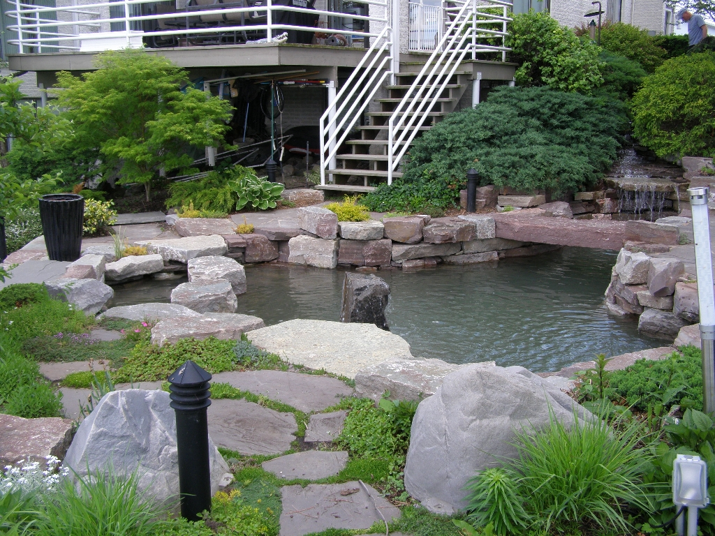 Small Backyard Koi Pond Ideas | Mystical Designs and Tags on Koi Ponds Ideas id=52099