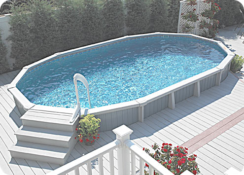 Above Ground Pool Landscaping Pictures Landscape Designs
