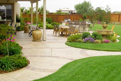 Backyard Landscape Designs   Ideas Photos and Plans on Backyard Designs  id=31761