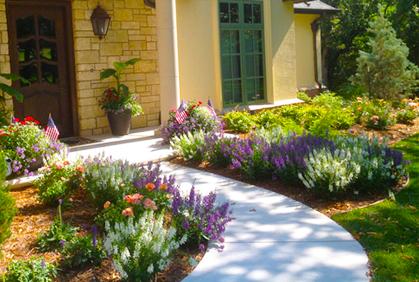 idea simple garden landscaping Simple Landscaping Ideas 2016 Pictures Design Plans