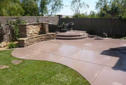 Cheap Patio Ideas on a Budget Pictures Designs Plans on Cheap Backyard Patio Ideas id=77669