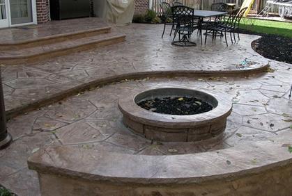 Concrete Patio Ideas Pictures Cost 2016 Design Plans on Diy Concrete Patio Ideas id=36800