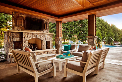 Covered Patio Ideas Pictures and 2016 Design Plans on Backyard Covered Patio Designs id=66136