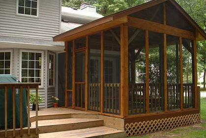 Screened In Porch Ideas 2016 Pictures Screen Designs on Add On Patio Ideas  id=88670