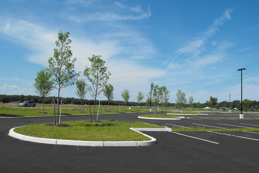 Uri flag road and parking lot extension kingston rhode for Landscape design ri