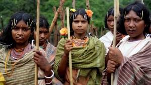 Orissa Stammesfrauen 16-9