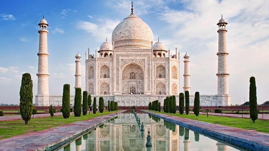 Taj Mahal Inde Palais