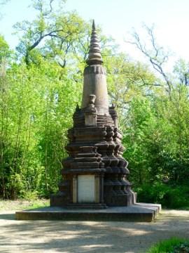 Cambodian war memorial