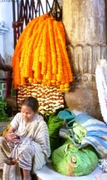 Kolkata flower market 10