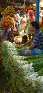 Kolkata flower market 11
