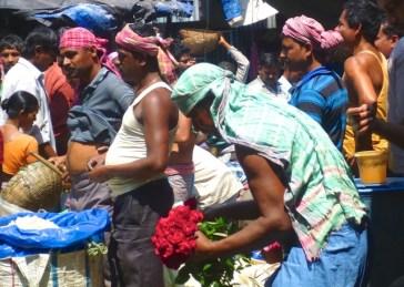 Kolkata flower market2