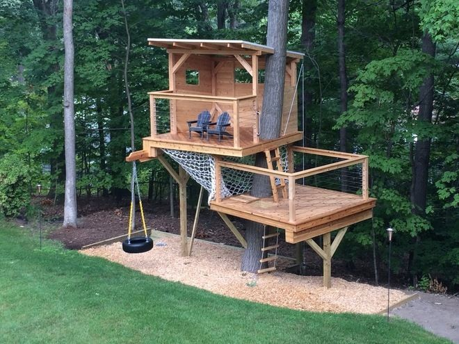 Outdoor Tree House